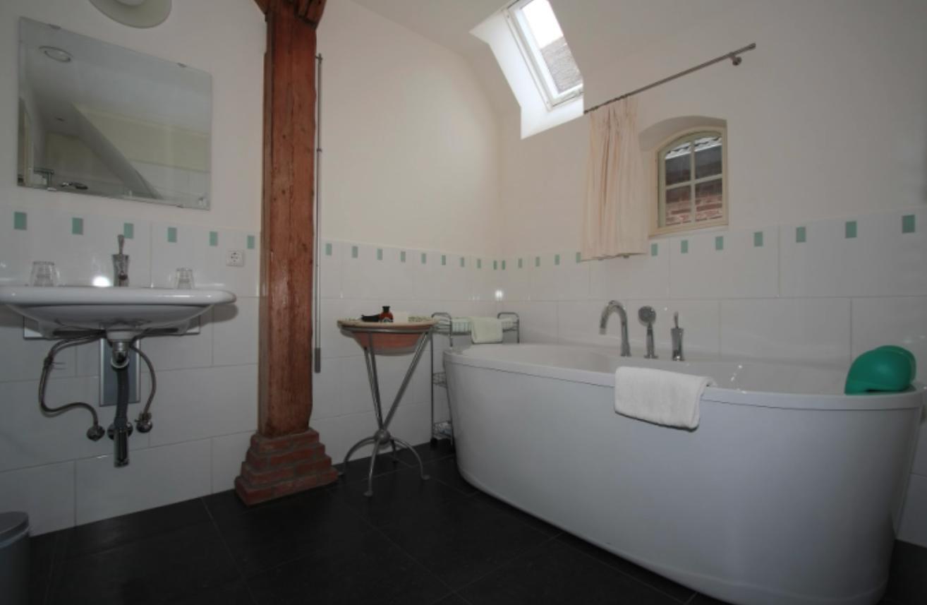 Badkamer van het Buthus - Lytshuis Zilver