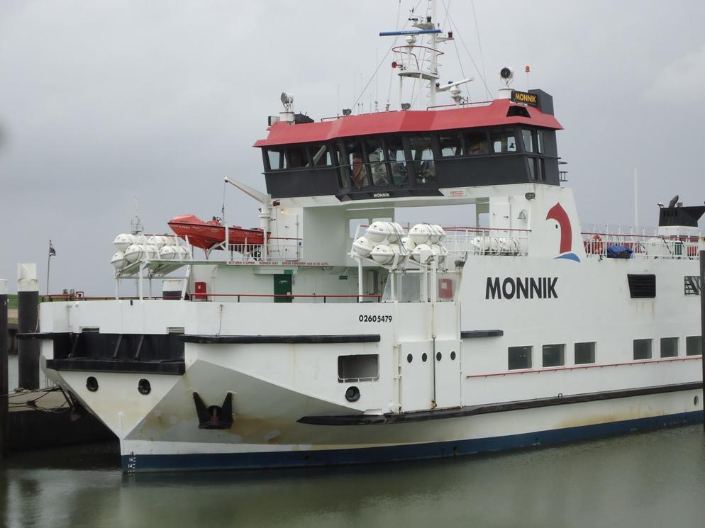 De boot naar Schiermonnikoog - Lytshuis Zilver