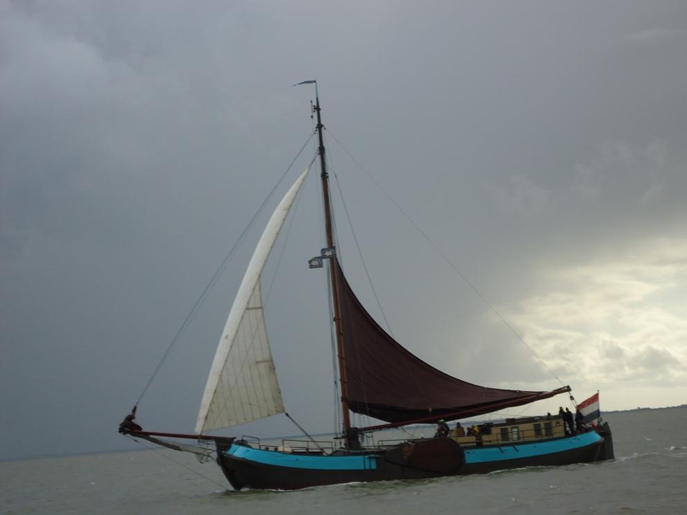 Zeilboot de Groene Eenvoud