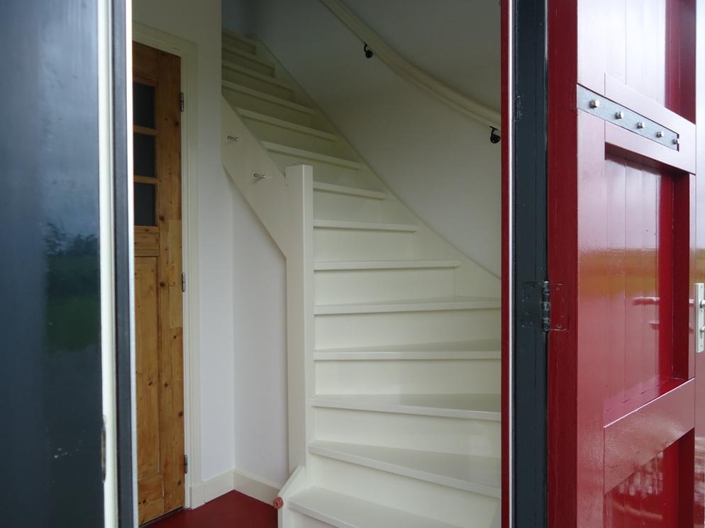 Trap naar de bovenverdieping, Skuorke